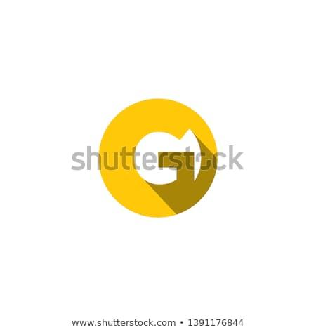 抽象的な · 行 · サークル · 青 · 光 · ウェブ - ストックフォト © kyryloff