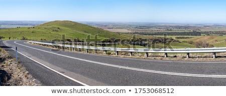 Australian rural landscape in winter panorama Stock photo © lovleah