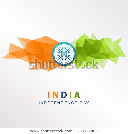 verkiezing · banner · driekleur · indian · vlag · land - stockfoto © sarts