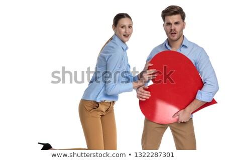 男性 · 女性 · 手 · 赤 · 中心 · 家族 - ストックフォト © feedough