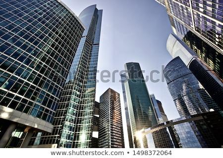 Toronyház épület illusztráció nagy struktúra hét Stock fotó © jossdiim