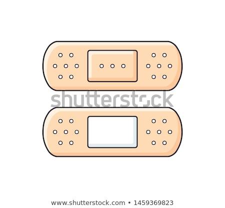 Cartoon bandage Stock photo © bennerdesign