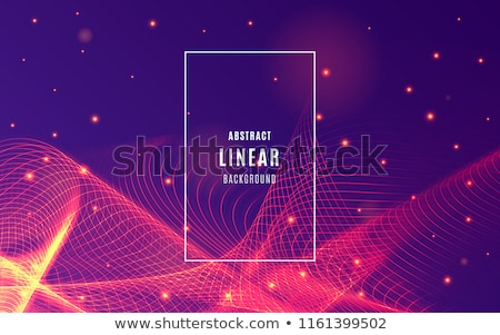 Flyer music wave, audio poster, Technology Background. Vector Stock photo © Andrei_