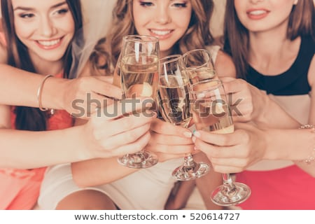 bachelorette girl Stock photo © adrenalina