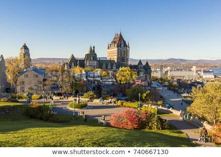 Quebec cidade ponte Canadá Foto stock © Lopolo