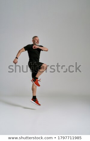 Fitness gezondheid sport verticaal actief Stockfoto © benzoix