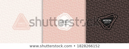 Background template with pink dash line Stock photo © bluering