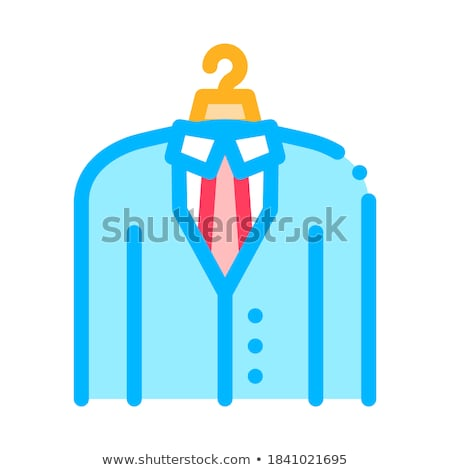 Business Suit Costume Job Hunting Vector Icon Stock photo © pikepicture