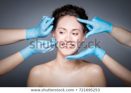 Medico faccia chirurgia plastica ragazza uomo Foto d'archivio © Elnur