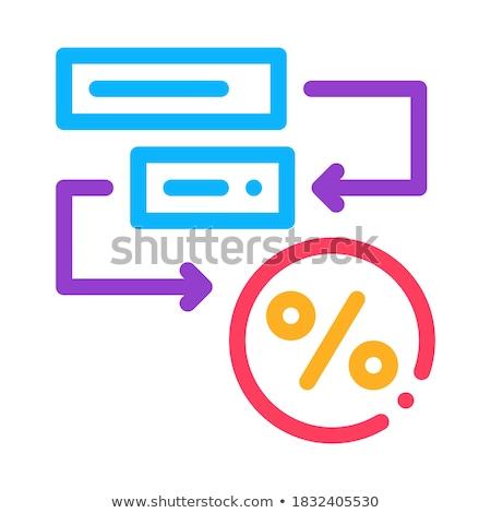 Bonus Scheme Concept Icon Vector Outline Illustration Stock photo © pikepicture