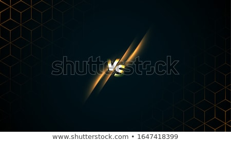 versus vs batter screen game sports background Stock photo © SArts