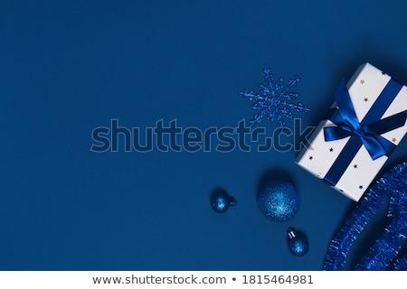 coloré · flocons · de · neige · eps · lumières · vecteur - photo stock © beholdereye