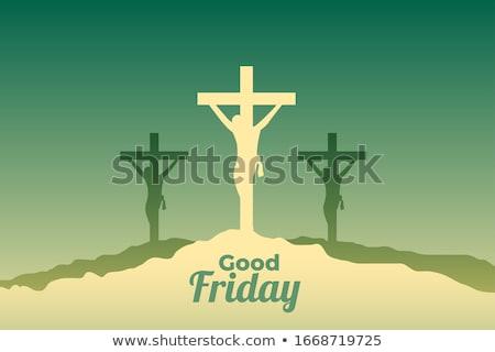Иисус Христа сцена хорошие события дизайна Сток-фото © SArts