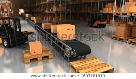 Product Delivery, Factory Ship Boxes, Warehouse Stock photo © robuart