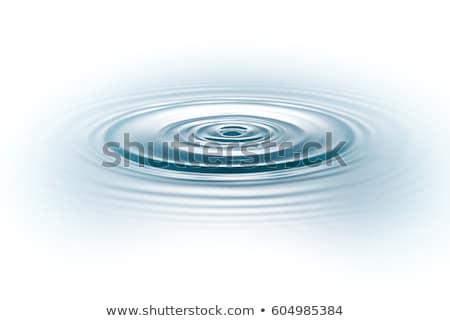 Bella luce acqua pioggia piscina blu Foto d'archivio © Ansonstock