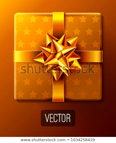 birthday card with present box eps 8 stock photo © beholdereye