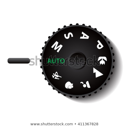manual mode in camera mode dial Stock photo © beemanja