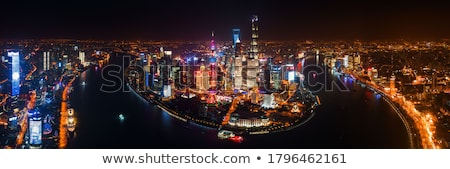 skyline · Sjanghai · China · reizen · asian · asia - stockfoto © prill