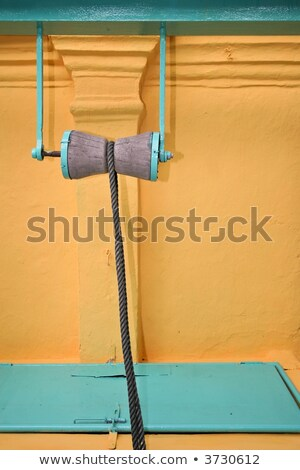 well pulley in an indian temple, Malaysia Stock photo © smithore