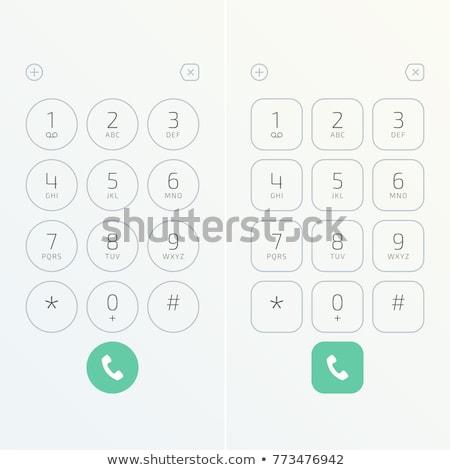 telephone keypad Stock photo © Pakhnyushchyy