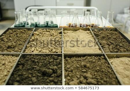 föld · üveg · kosz · kék · víz · tavasz - stock fotó © wisiel