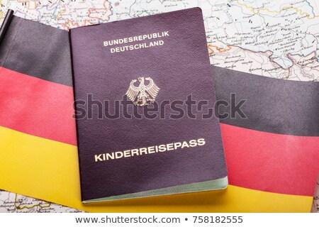 German passport stock photo © yurikella