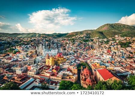 Mexican Architecture Guanajuato Mexico Stock photo © emattil