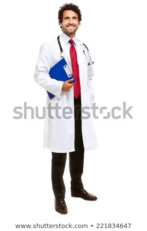 ハンサム · 医師 · 表示 - ストックフォト © lisafx
