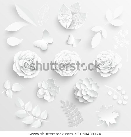 Virág origami kézzel készített textúra tavasz természet Stock fotó © djemphoto