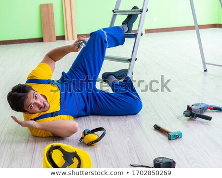 Injured builder Stock photo © photography33