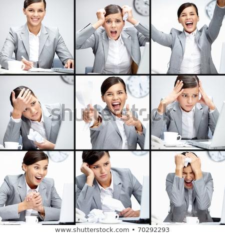 collage · zakenlieden · verschillend · business · vrouw · hand - stockfoto © wavebreak_media