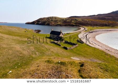 Tierras altas Escocia paisaje viaje lago Europa Foto stock © phbcz
