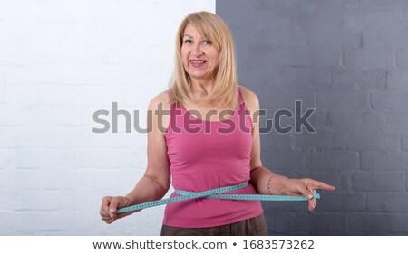 Sorrindo cintura branco corpo fitness Foto stock © wavebreak_media