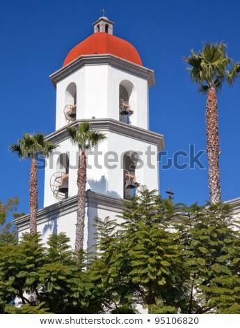 Missie basiliek san juan kerk Californië binnenkant Stockfoto © billperry