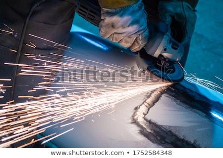 Stok fotoğraf: Adam · açı · öğütücü · inşaat · işçi