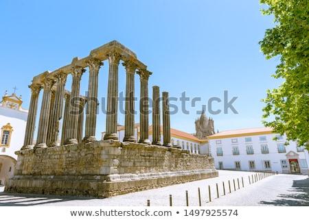 Temple of Evora - Evora Portugal Stock photo © jeayesy