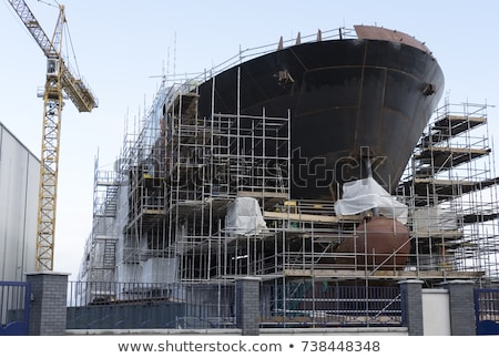 Stock photo: Ship building