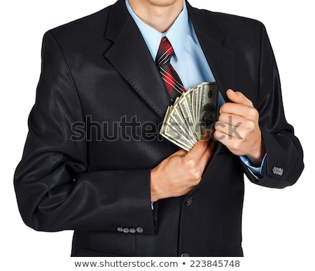 Man pulling money out of his pocket Stock photo © photography33
