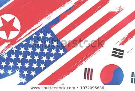North Korea, USA and South Korea War Stock photo © gubh83