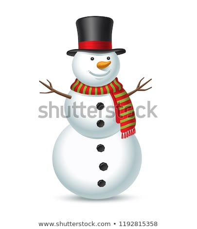 snow man stock photo © refugeek