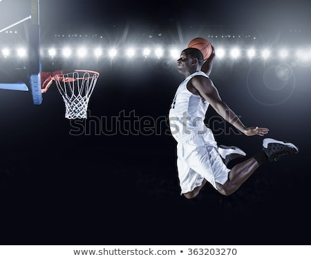 Man Dunking a Basketball Stock photo © ArenaCreative