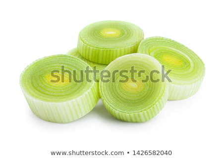 ripe leek cut segment Stock photo © prg0383