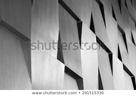 Ipari absztrakt építészet drótváz izolált render Stock fotó © cherezoff