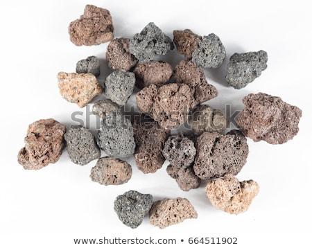 Pumice stone isolated on white background  Stock photo © joannawnuk