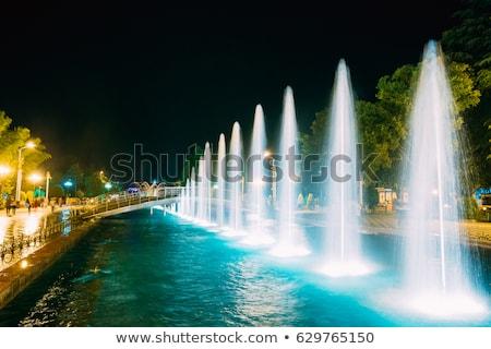 batumi fountains stock photo © joyr