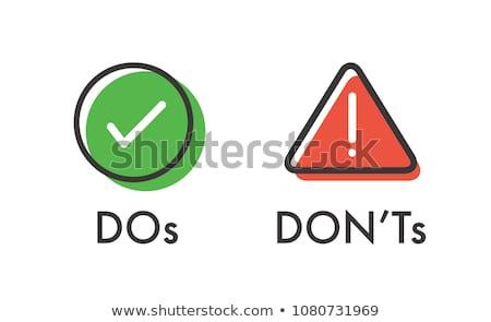 Pass Not Fail Stock photo © 3mc