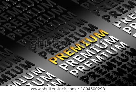 Najlepszy wartość złota 3D słowa ciemne Zdjęcia stock © tashatuvango