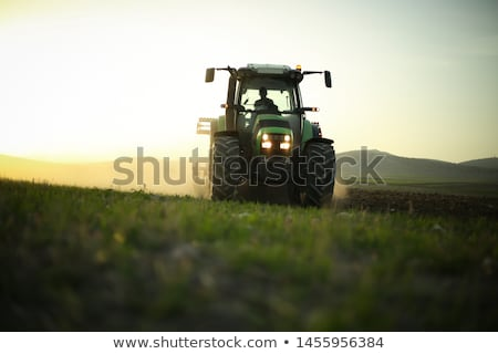 tractors and harvesting stock photo © dar1930