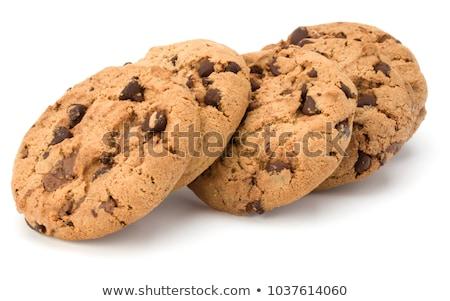 bisküvi · yalıtılmış · grup · sandviç · tatlı · yemek - stok fotoğraf © designsstock