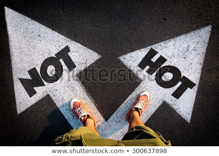 hot or not concept stock photo © ivelin